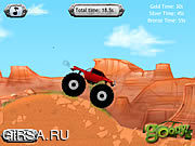Флеш игра онлайн Американский грузовик / Monster Truck America