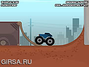 Флеш игра онлайн Monster Truck Trials