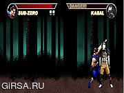 Флеш игра онлайн Мортал  Комбат Карнаж
