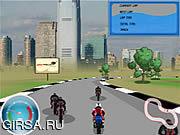 Флеш игра онлайн Моторное безумие