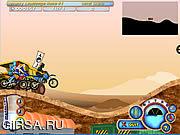 Флеш игра онлайн Мото-Ниндзя / Moto Rush 2