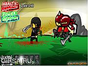 Флеш игра онлайн Битва ниндзей