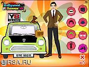 Флеш игра онлайн Мистер Бин Одевалки / Mr. Bean Dress Up