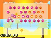 Флеш игра онлайн Приключения на пляже / Mr. Crabbys Beach Ball Adventure