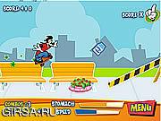 Флеш игра онлайн Измельчить Мунка 'Н'  / Munch 'N' Grind