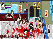 Флеш игра онлайн Агент Смит против Зомби / Mutant Madness