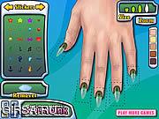 Флеш игра онлайн Оригинал конструкции ногтя / Nail Design Master