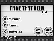 Флеш игра онлайн Название этого фильма / Name that Film