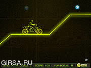 Флеш игра онлайн Неоновый гонщик