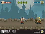 Флеш игра онлайн Нерд vs зомби - просто выжить / Nerd vs Zombies Just Survive