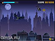 Флеш игра онлайн Защитник ночного неба / Night Sky Defender