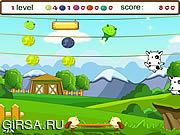 Флеш игра онлайн Отскакивать Niu Niu / Niu Niu Bouncing