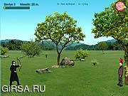 Флеш игра онлайн Стрельба из лука / Okcu Boyu Bilal