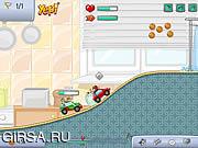 Флеш игра онлайн Веселый пейнтбол / Paintball Racers