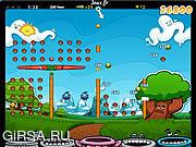 Флеш игра онлайн Меткий мячик / Papa Pear