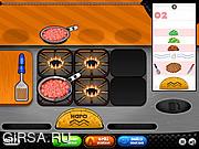 Флеш игра онлайн Papa's Taco Mia!