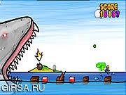 Флеш игра онлайн Paranormal Shark Activity