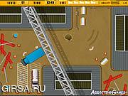 Флеш игра онлайн Park My Big Rig 2