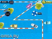 Флеш игра онлайн Park My Fun Boat