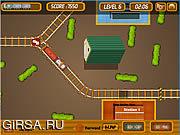 Флеш игра онлайн Park My Train