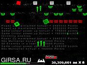 Флеш игра онлайн Particle Wars Extreme