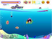 Флеш игра онлайн Penguin Dive