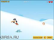 Флеш игра онлайн Поиски пингвина