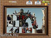 Флеш игра онлайн Photo Mess - Transformers