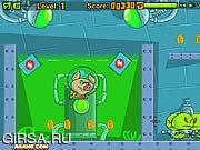 Флеш игра онлайн Супер Свин Против Зомби / Pig Nukem