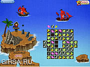 Флеш игра онлайн Защитник пиратский клад / Pirate's Treasure Defender