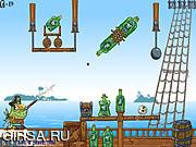 Флеш игра онлайн Pirates SOS