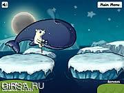 Флеш игра онлайн Polar Pogo