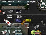 Флеш игра онлайн Police Car parking 2