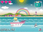 Флеш игра онлайн Яхта Полли / Polly's Yacht