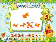 Флеш игра онлайн Pooh's Brain Games