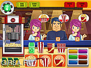 Флеш игра онлайн Мания попкорна / Popcorn Mania