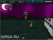 Флеш игра онлайн Зомби-босс / Pothead Zombies