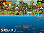 Флеш игра онлайн Prehistoric Shark