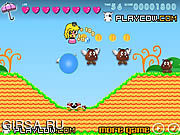 Флеш игра онлайн Princess Peach Adventure