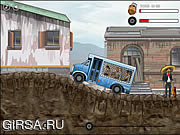 Флеш игра онлайн Prison Bus Driver