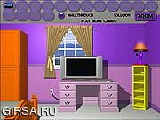 Флеш игра онлайн Purple Room Escape