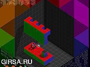 Флеш игра онлайн Бомба, цветы, девочка / QBcube