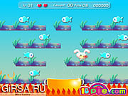 Флеш игра онлайн Кролика Ловить Рыбу / Rabbit Catch Fish