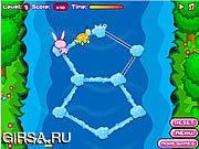 Флеш игра онлайн Гонка с кроликом / Race With Rabbit