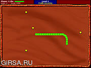 Флеш игра онлайн Радиоактивные  змейки