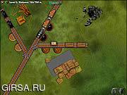 Флеш игра онлайн Railroad Shunting Puzzle