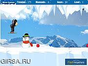 Флеш игра онлайн  Ранчо Льда Приключения /   Rancho Ice Adventure