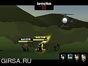 Флеш игра онлайн Перекрестный огонь