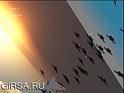 Флеш игра онлайн Оружие, Защита, Стрельба / Razor Alien Invasion Survival