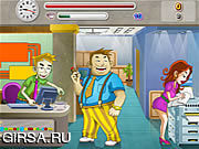 Флеш игра онлайн Receptionist's Revenge